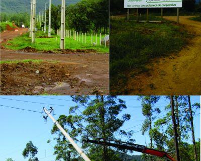 Cersul finaliza obras da nova rede na serra da R...
