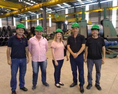 Visita a Fabricante de estruturas metálicas par...
