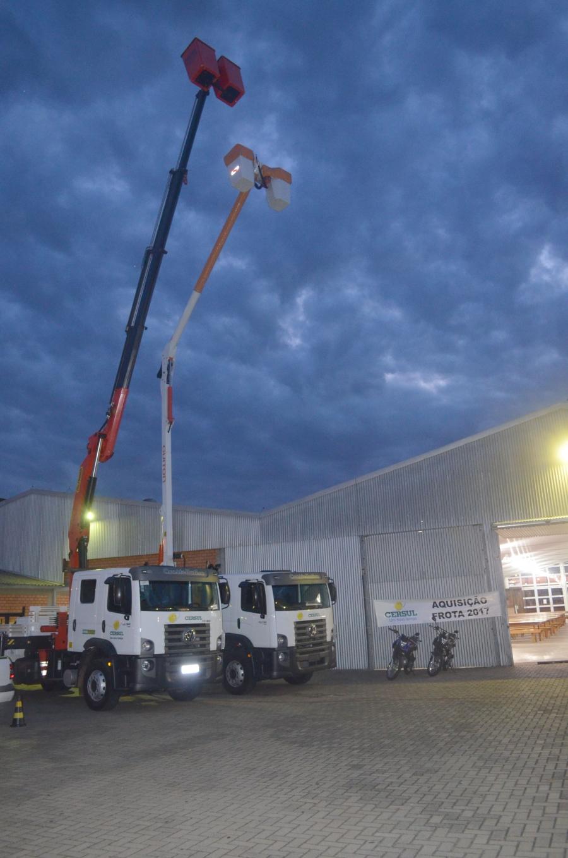 Cersul adquire novo caminhão para sistema de Linha Viva