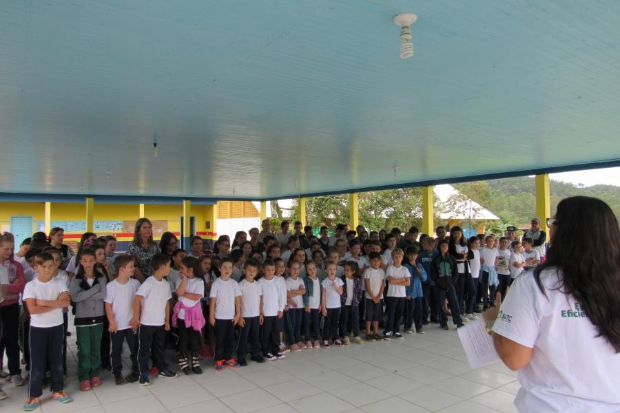 Morro Grande recebe projeto de Eficiência Energética Cersul