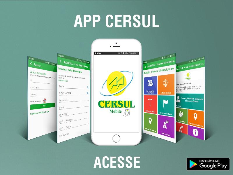 Novos canais de atendimento ao associado: 0800 digital e aplicativo da Cersul